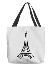 france paris eiffel tower  All-over Tote thumbnail
