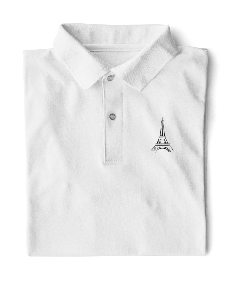 france paris eiffel tower  Classic Polo