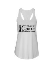 Black Queen - The Most Powerful piece in the game Ladies Flowy Tank tile