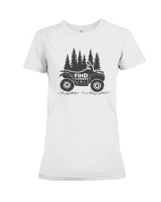 Find yourself Premium Fit Ladies Tee thumbnail