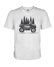 Find yourself V-Neck T-Shirt thumbnail