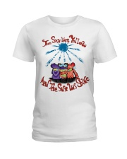 THE SKY WAS YELLOW Ladies T-Shirt thumbnail