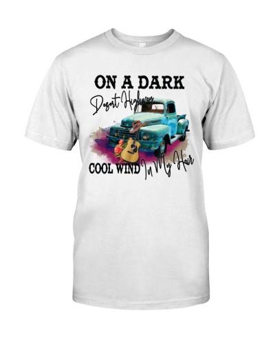 On A Dark Desert Highway Cool Wind In My Hair