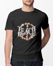 Teach Peace T-shirts Classic T-Shirt lifestyle-mens-crewneck-front-13