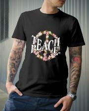 Teach Peace T-shirts Classic T-Shirt lifestyle-mens-crewneck-front-6