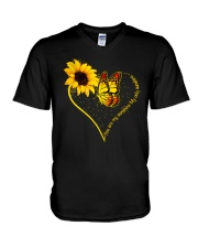 You are my sunshine My only sunshine V-Neck T-Shirt front