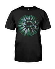 Wander Often Wonder Always Classic T-Shirt front