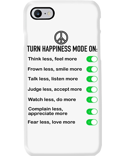 Turn happiness mode on