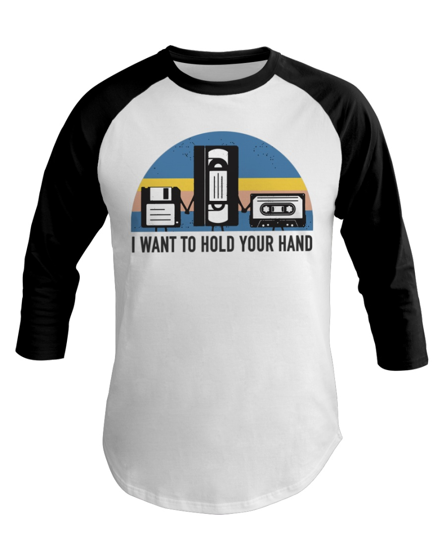 Hold Your Hand Baseball Tee