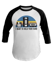 Hold Your Hand Baseball Tee thumbnail