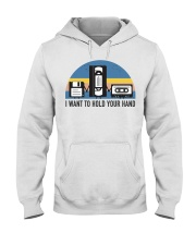 Hold Your Hand Hooded Sweatshirt thumbnail