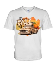 It's Fall Y'all  V-Neck T-Shirt thumbnail