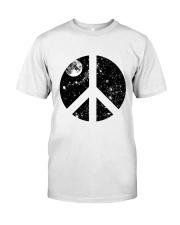 Hippie Peace T-shirts Premium Fit Mens Tee front