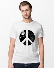 Hippie Peace T-shirts Premium Fit Mens Tee lifestyle-mens-crewneck-front-15