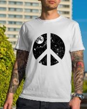 Hippie Peace T-shirts Premium Fit Mens Tee lifestyle-mens-crewneck-front-8