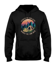 Listen to the wind blow watch the sun rise Hooded Sweatshirt thumbnail