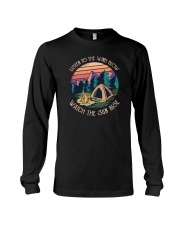 Listen to the wind blow watch the sun rise Long Sleeve Tee thumbnail