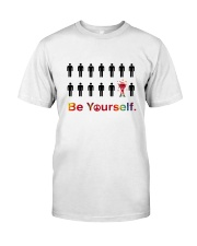 Be yourself Premium Fit Mens Tee front