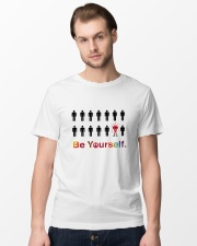 Be yourself Premium Fit Mens Tee lifestyle-mens-crewneck-front-15