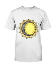 Love by the moon Live by the sun Premium Fit Mens Tee front