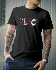 PEACE TEXT Classic T-Shirt lifestyle-mens-crewneck-front-6