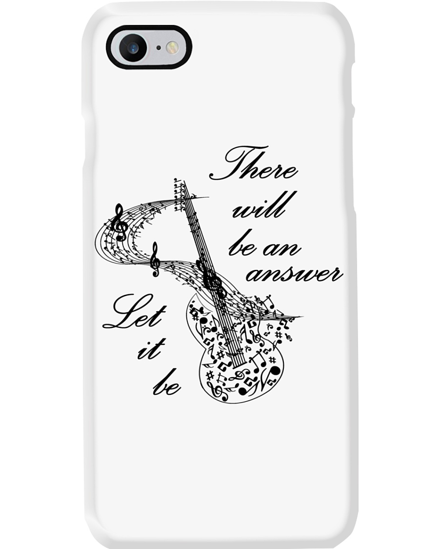 BLACK THERE WILL BE AN ANSWER Phone Case