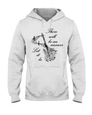 BLACK THERE WILL BE AN ANSWER Hooded Sweatshirt thumbnail
