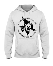 Blackbird singing in the dead of night Hooded Sweatshirt thumbnail