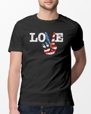 Hippie T-shirts Classic T-Shirt lifestyle-mens-crewneck-front-13