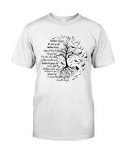 Black Birt T-Shirt Classic T-Shirt front