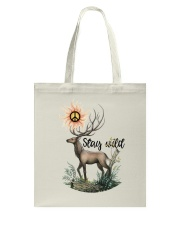 Hippie - Stay wild Tote Bag tile