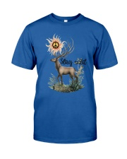Hippie - Stay wild Classic T-Shirt thumbnail