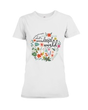 And I think to myself Premium Fit Ladies Tee front
