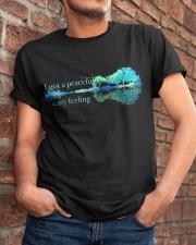 I Got A Peaceful Easy Feeling Classic T-Shirt apparel-classic-tshirt-lifestyle-26