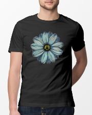 Peace Flower Classic T-Shirt lifestyle-mens-crewneck-front-13