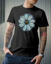 Peace Flower Classic T-Shirt lifestyle-mens-crewneck-front-6