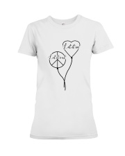 Let it out - Let it in Premium Fit Ladies Tee tile