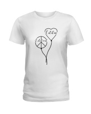 Let it out - Let it in Ladies T-Shirt thumbnail