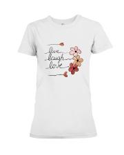 Live - Laugh - Love Premium Fit Ladies Tee thumbnail