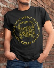 On A Dark Desert Highway Cool Wind In My Hair Classic T-Shirt apparel-classic-tshirt-lifestyle-26