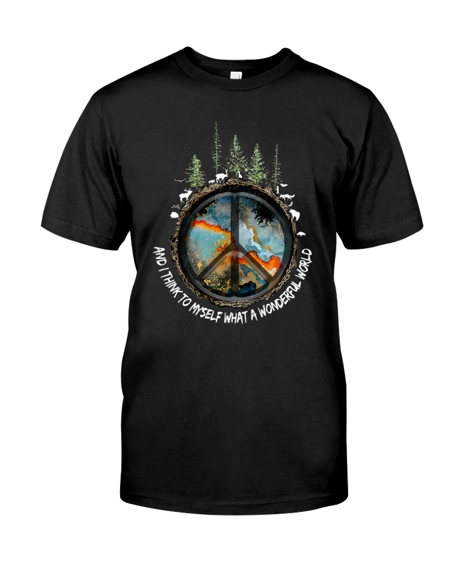 And Think To Myself What A Wonderful World Ad0007  Classic T-Shirt
