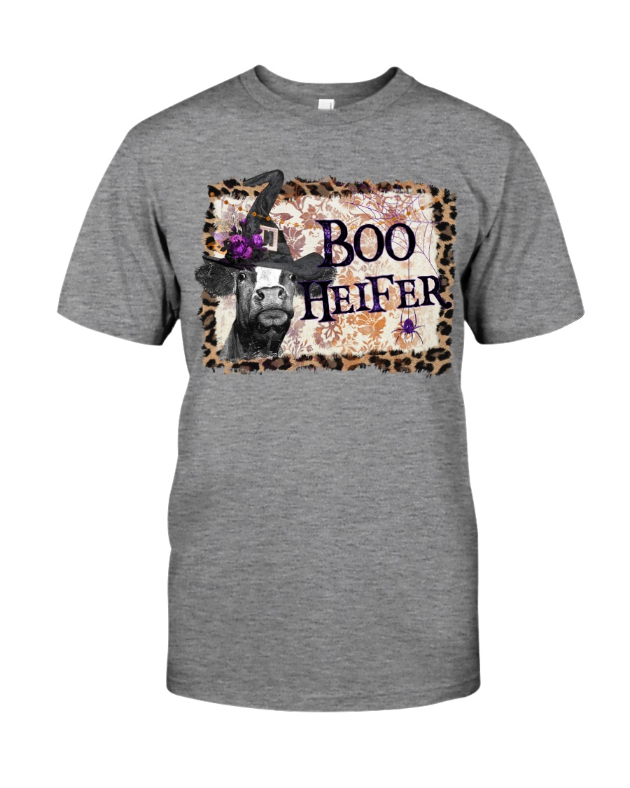 Boo Heifer Premium Fit Mens Tee