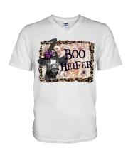 Boo Heifer V-Neck T-Shirt thumbnail