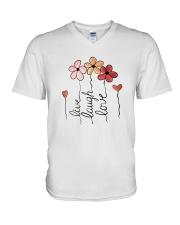 Live - Laugh - Love V-Neck T-Shirt thumbnail