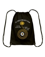 Of what you truly love  Drawstring Bag thumbnail