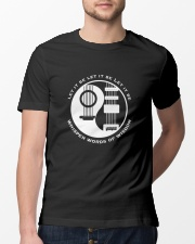 Whisper words of wisdom Classic T-Shirt lifestyle-mens-crewneck-front-13