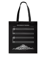 The Sound Of Silence Tote Bag tile