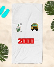 T-shirt Nimbus 2000 Beach Towel aos-towelbeach-vertical-front-lifestyle-2