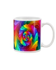 RAINBOW CANDY SPIRAL Mug tile