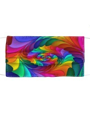 RAINBOW CANDY SPIRAL Cloth face mask thumbnail